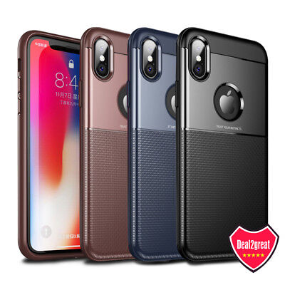(For iPhone XS X 7 8 Plus Protective Case Anti-slip Shockproof Hybrid Hard Cover)