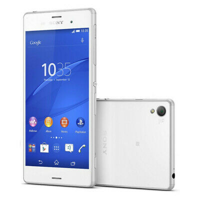 Sony Xperia Z3 - 16 GB - White (UNLOCKED) - Smartphone - Very Good Condition