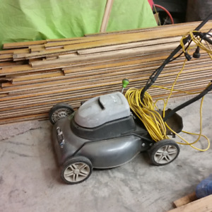 Electric Lawn Mower with 75 ft cord