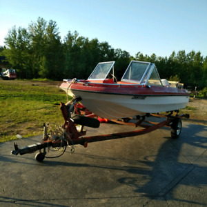 1984 Glascon 14ft with trolling motor $3200 obo