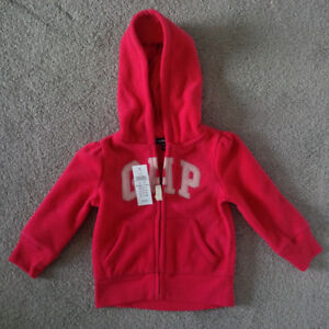 Brand New Girl's GAP Sweater/Hoodie - Size 12-18 months