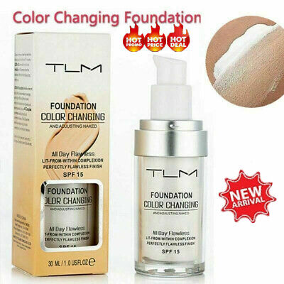 Magic Flawless Color Changing Foundation TLM Makeup Change To Your Skin Tone G5/