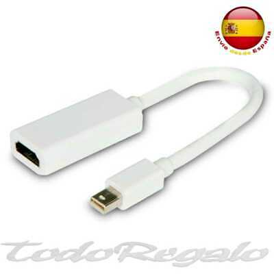 Adaptador Mini Display Port a Cable HDMI TV 1.3 HD para iMAC...