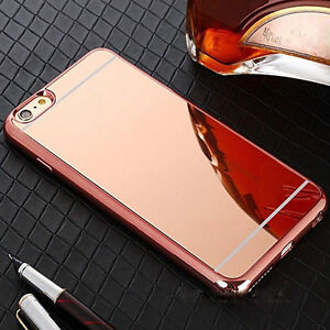 Luxury Ultra-thin Soft Silicone Mirror iPhone 6S plus case cover