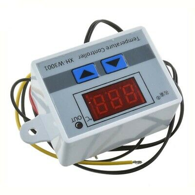 12v24v220v Digital Led Temperature Controller Switch Probe Thermostat Control