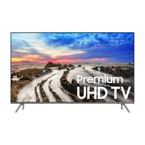 "SAMSUNG 55"" LED 4K HDR SMART UHDTV 8000 SERIES *NEW IN BOX*"