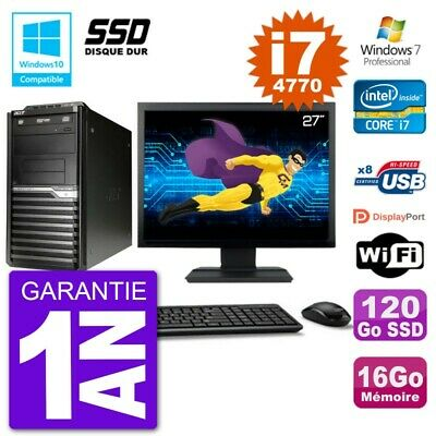 PC Acer Veriton M4630G MT Ecran 27