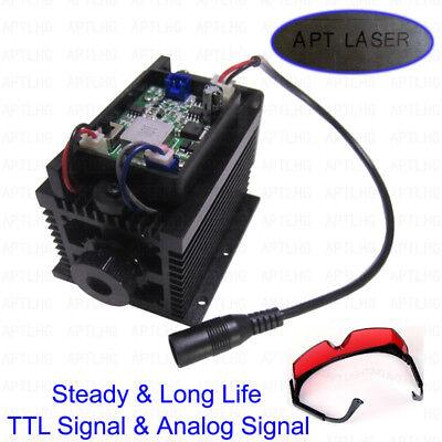 Ttl Analog 12w Laser Head Engraving Module Metal Marking Wood Cutting Engraver