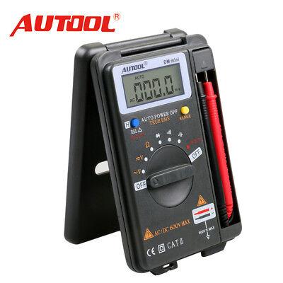 Autool Dm Mini 34 Addc Multimeter Pocket Digital Frequency Multimeter Tester