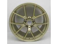 """20"""" Gold M4 CS Style Alloy Wheel and Tyre Package 5X120 BMW M3 & M4"""