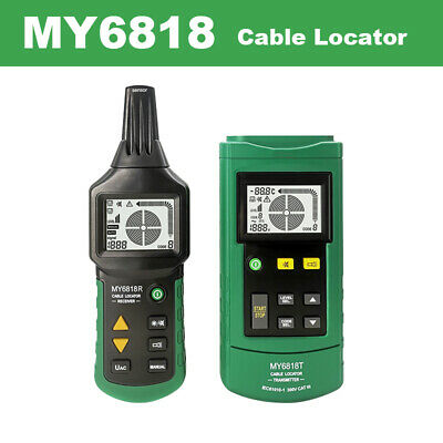 My6818 Cable Wire Tracker Locator Network Line Metal Pipe 12v-400v Acdc Tester