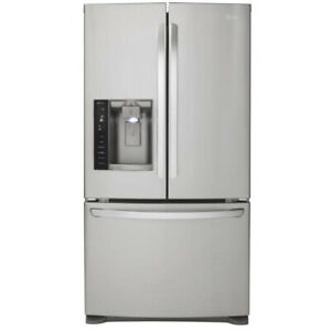 """LG LFX28968ST French Door 36"""" Refrigerator with Linear Compresso"""