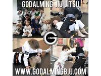 Kids Youth Brazilian Jiu Jitsu Classes Godalming Farncombe Witley Surrey