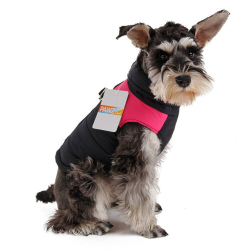 Pet Dog Vest Clothes Small Puppy Dogs Winter Warm Waterproof Jacket Coat Apparel