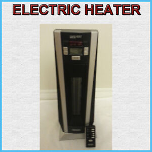 DELONGHI 1000 WATT ELECTRIC HEATER WITH REMOTE CONTROL