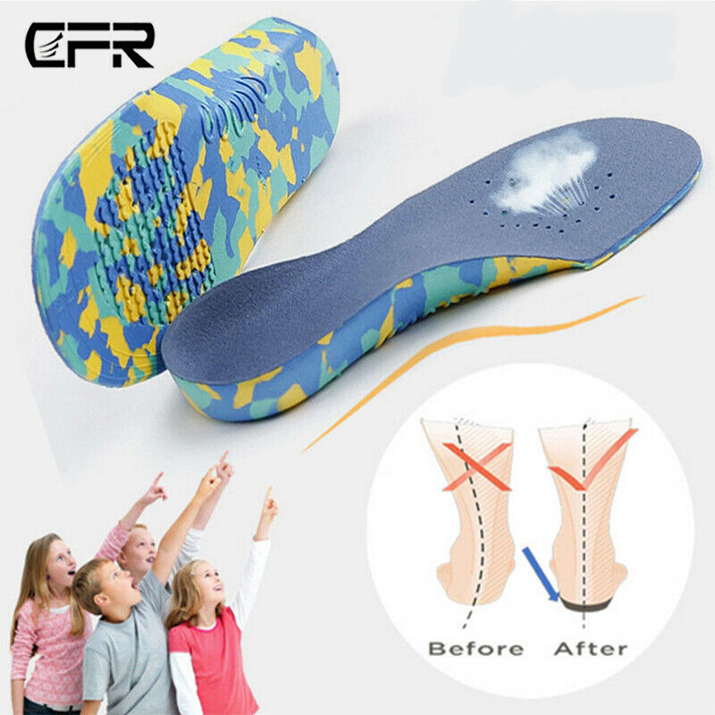 Kids Shoe Insoles Cushioning Fasciitis