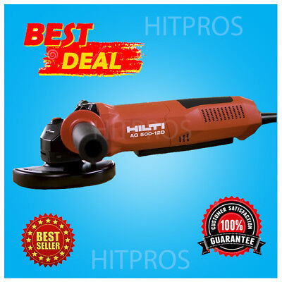 Hilti Angle Grinder Ag 500-12d Brand New Fast Shipping
