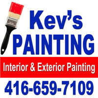 Kev's Professional Painting 416-659-7109
