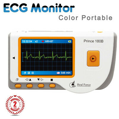 Heal Force Prince 180b Handheld Ecg Ekg Portable Heart Monitor Software Usb Sz