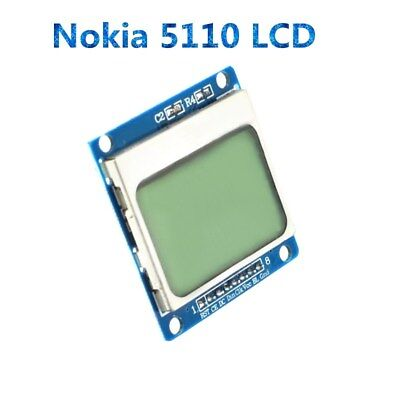 84x48 Nokia Lcd Module Blue Backlight Adapter Pcb Nokia 5110 Lcd For Arduino Ly