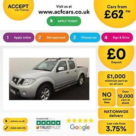 Nissan Navara 2.5dCi ( EU V ) Connect Premium Tekna FROM £62 PER WEEK!