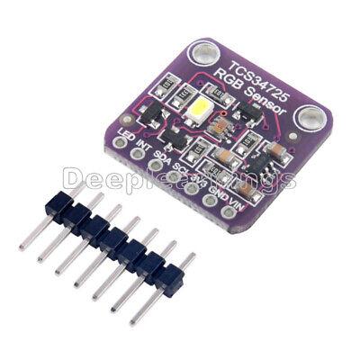 1pcs New Tcs34725 Rgb Light Color Sensor Recognition Module For Arduino