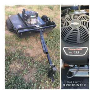 Tow Behind Lawn Mower