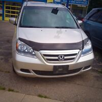 2007 HONDA ODYSSEY EX-L ONE OWNER CLEAN HISTORY CERTIFIED