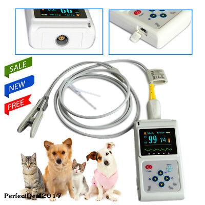 Veterinary Pulse Oximeter Animal Tongue Ear Spo2 Pr Hr Blood Oxygen Meter Oled