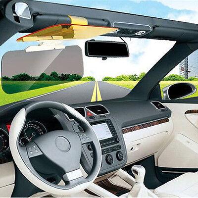 Unique Car Sun Visor Anti-Glare UV Blocker Fold Flip Down HD Clear View Visor 4