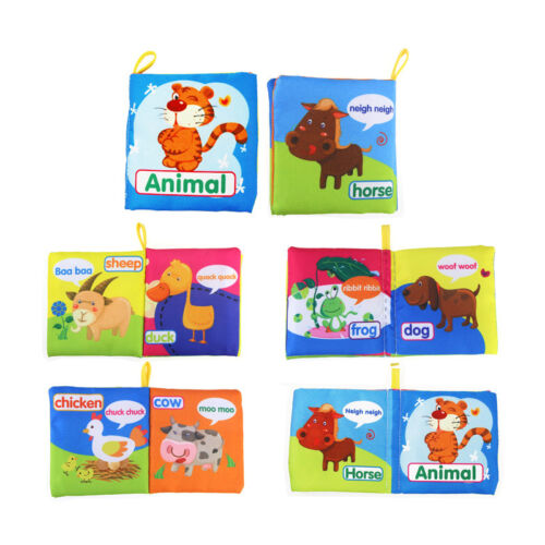 cloth book newborn baby learn letter number