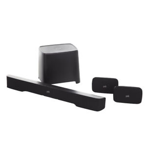Polk True Surround 5.1 Channel 260W Sound Bar with Wireless Rear