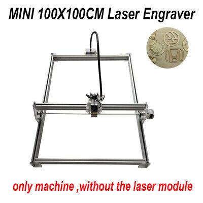 100x100cm Mini Cnc Laser Engraver Engraving Kit Router Without Laser Module