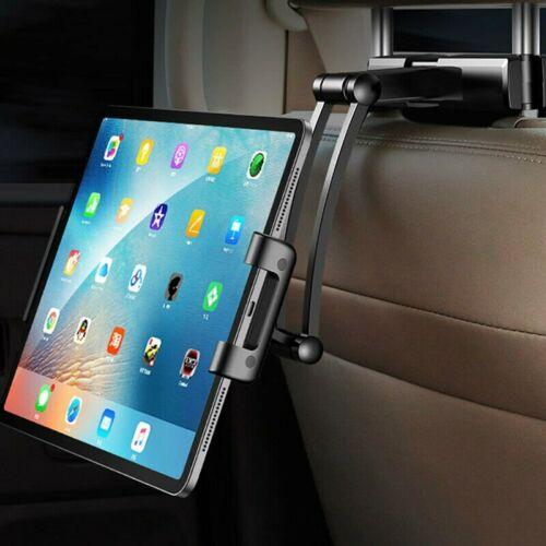 Car Back Seat Tablet Stand Headrest Mount Holder for 4-10.5i
