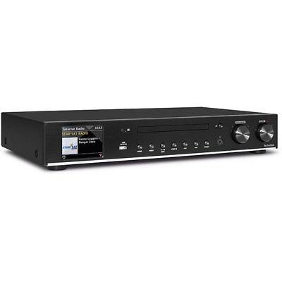 TechniSat Radio-HiFi-Tuner DIGITRADIO 140, DAB+/UKW/Internetradio, USB, Bluetoot
