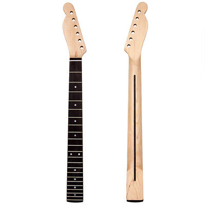 Left Hand Lefty Electric Guitar Neck for TL Parts Replacement 22 Fret