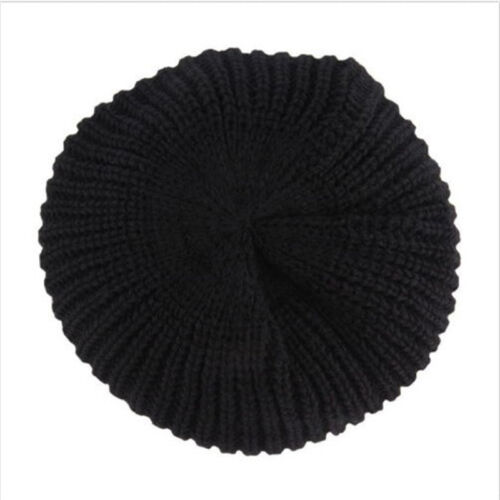 Mens Women Knit Beanie Cap Oversize Winter Slouch Extra Long Warmer Hat Unisex Clothing, Shoes & Accessories