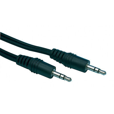 Stereo Mini Jack Male 2,5mm to Stereo Mini Jack Male 2,5 mm Cable 1,2 meter