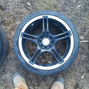 "set of 17"" rims off of 2005 honda civic"