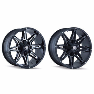 "BRAND NEW MAYHEM 8090 17"" RIMS! 8x165/8x170 bolt pattern"