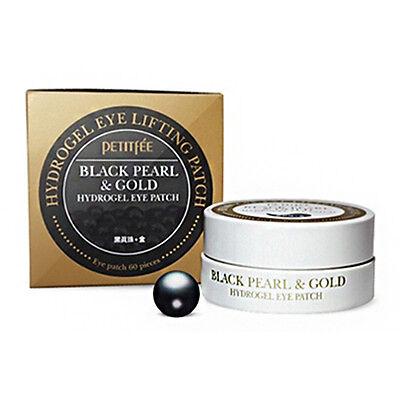 [PETITFEE] Black Pearl & Gold  Hydrogel Eye Patch (1.4g*60pcs)
