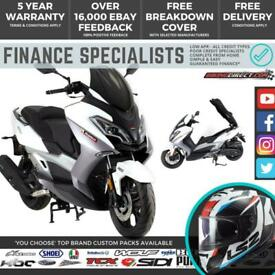 Lexmoto Pegasus 300 300cc Scooter FINANCE   UK DELIVERY   Large Maxi Scooter