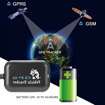 Car Motorbike Anti Theft Gsm Gprs Gps Tracker Locator Real Time Tracking Device