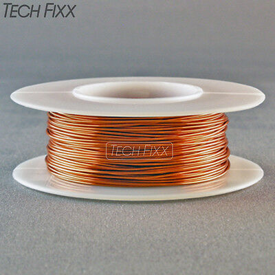 Magnet Wire 18 Gauge AWG Enameled Copper 25 Feet Coil Winding and Crafts 200C