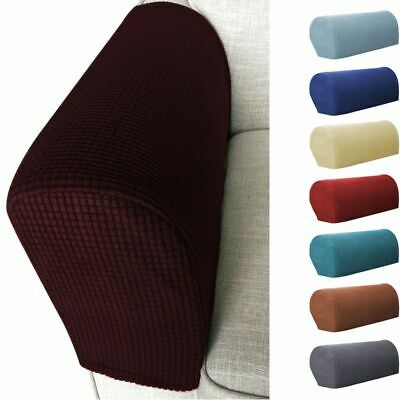 2X Premium Armrest Covers Stretchy Chair Sofa Couch Arm Prot