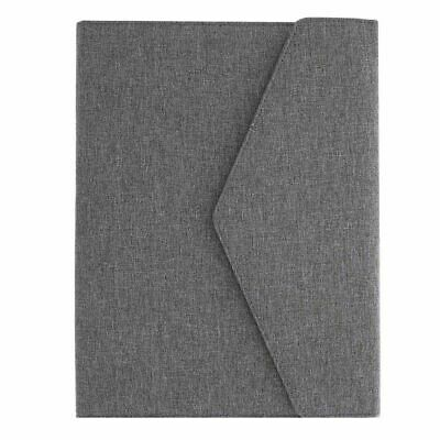 Grey Business Portfolio Padfolio Resume Folder for Document