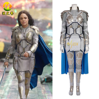 The Thor 3: Ragnarök Valkyrie Cosplay Costume Halloween Outfit Women Customize B - Thor Womens Halloween Costume