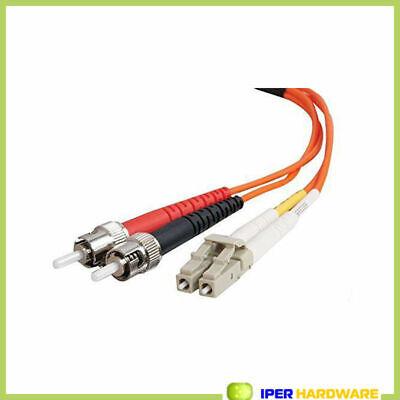 Câble fibre optique Belkin Multimode Lc/St Duplex Patch Cable 5M
