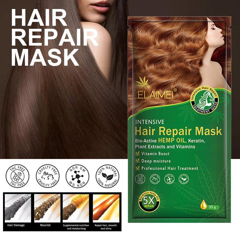Keratin Repair Hair Mask Pro Dry Moisturizing Damaged Mainte
