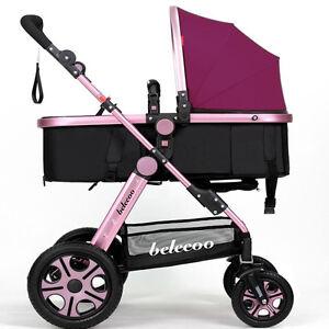 Lujo reci n nacido carro viajar silla de paseo coche for Silla coche nino 9 anos